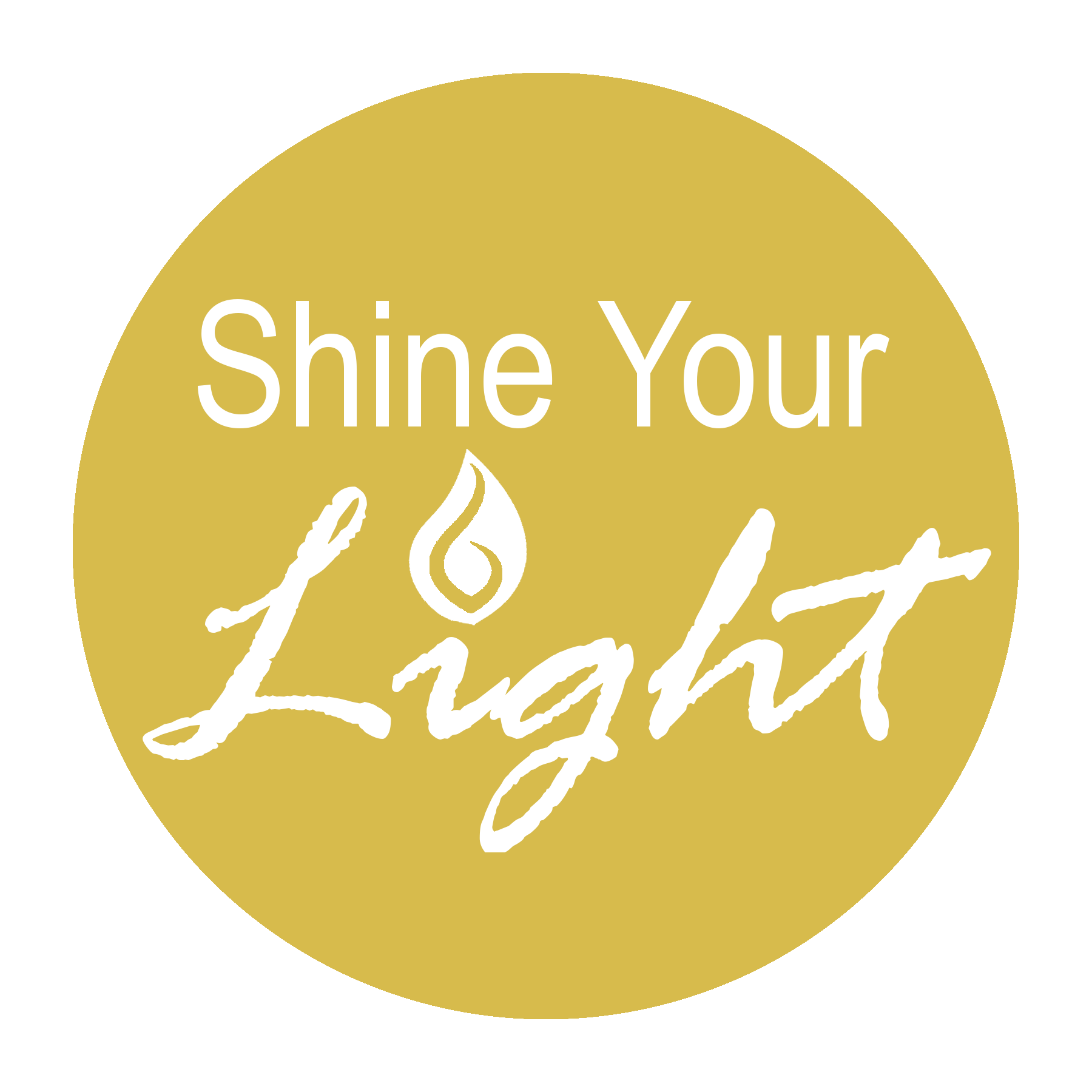 Shine Your Light Stewardship Logo--Yellow