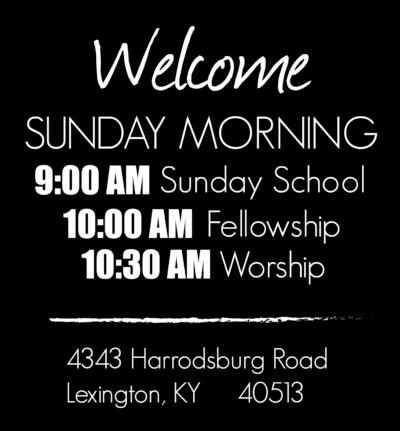 Sunday Morning Details