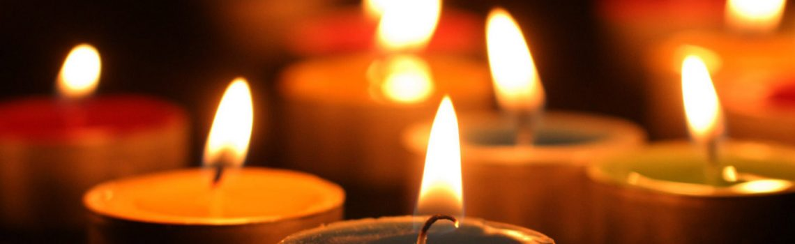Lighting Sabbath Candles