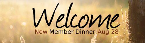 New Member Dinner FB Event Banner