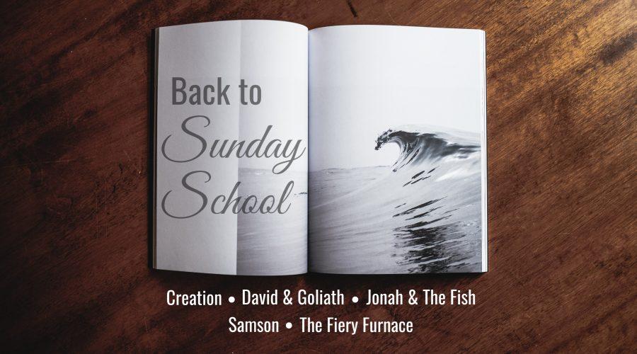 Back to Sunday School