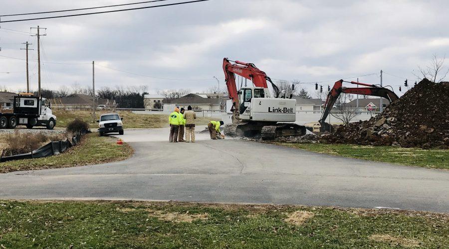 Parking Lot Entrance Closure: Jan 9-11, 2019