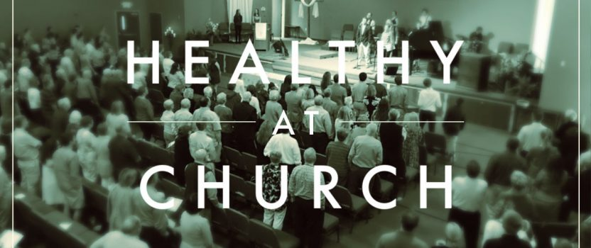 Healthy at Church Recommendations